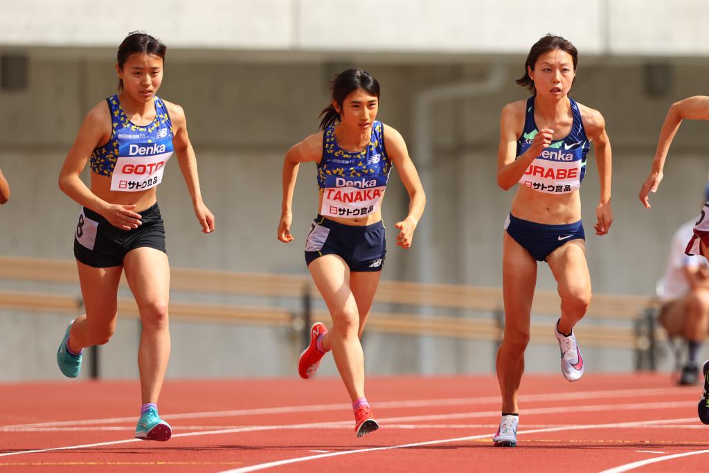 2021 デンカチャレンジ 女子 1500m